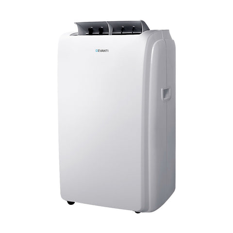 Portable Air Conditioner Mobile Fan Cooler White