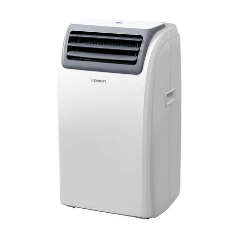 Portable Air Conditioner Mobile Fan Dehumidifier White
