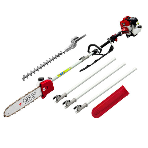 62CC 2 in 1 Multi Use Chainsaw Hedge Trimmer