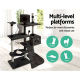 Large Cat Tree Dark Grey