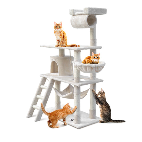 Pet 141cm Cat Scratching Post - Beige