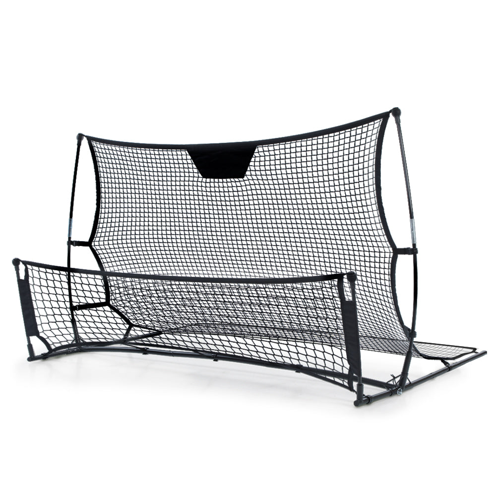 Portable Soccer Rebounder Net Volley Training Football Goal Trainer XL