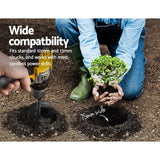 Power Garden Auger Small Earth Planter 75 X 600MM Black