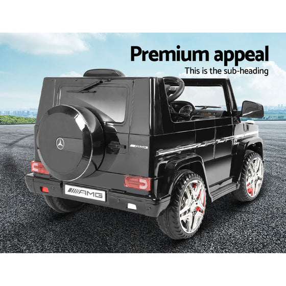 Kids Ride On Mercedes Benz G65 - Black