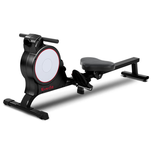 Magnetic Rowing Exercise Machine Rower Resistance Cardio Fitness Gym