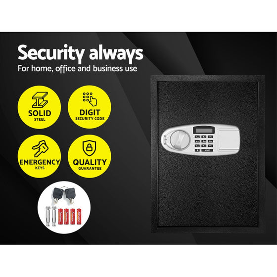 Electronic Safe Digital Security Box LCD Display 50cm