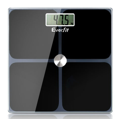 Digital Body Weight Scale Bathroom Scale-Black