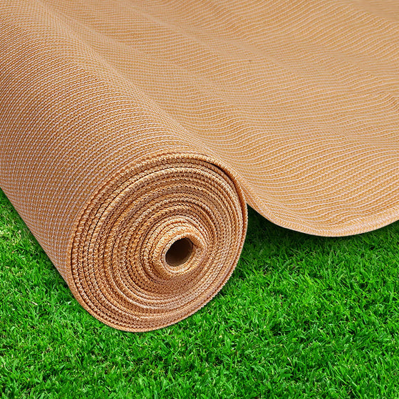 20m Shade Cloth Roll - Sandstone