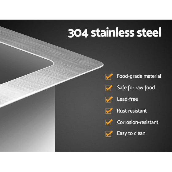 865 x 440mm Stainless Steel Sink