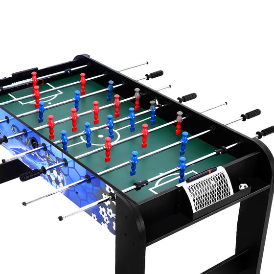 4FT Soccer Table Football Game Home Party Pub Size Kids