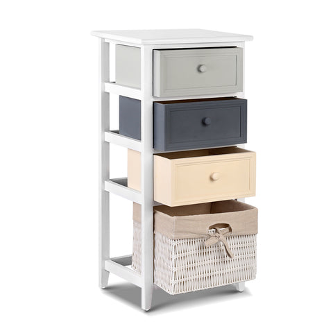 Buy Bedroom Storage Cabinet - White Online in Australia