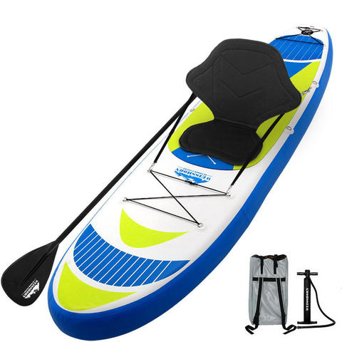 11FT Stand Up Paddle Board Inflatable SUP Surfborads 15CM Thick