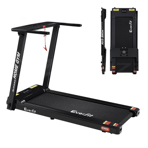 Electric Treadmill Home Gym Exercise Fitness Foldable 420mm