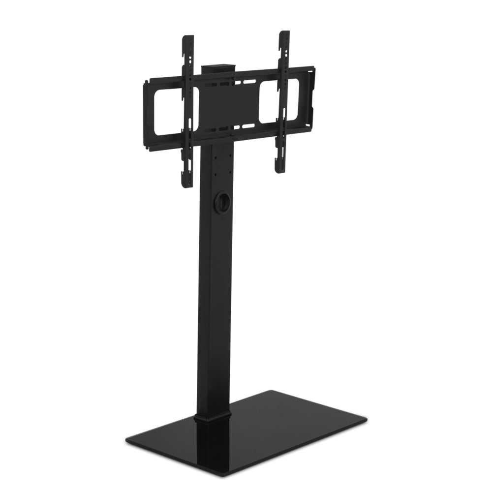 TV Stand Brakcket Mount Swivel Height Adjustable 32 to 70 Inch Black