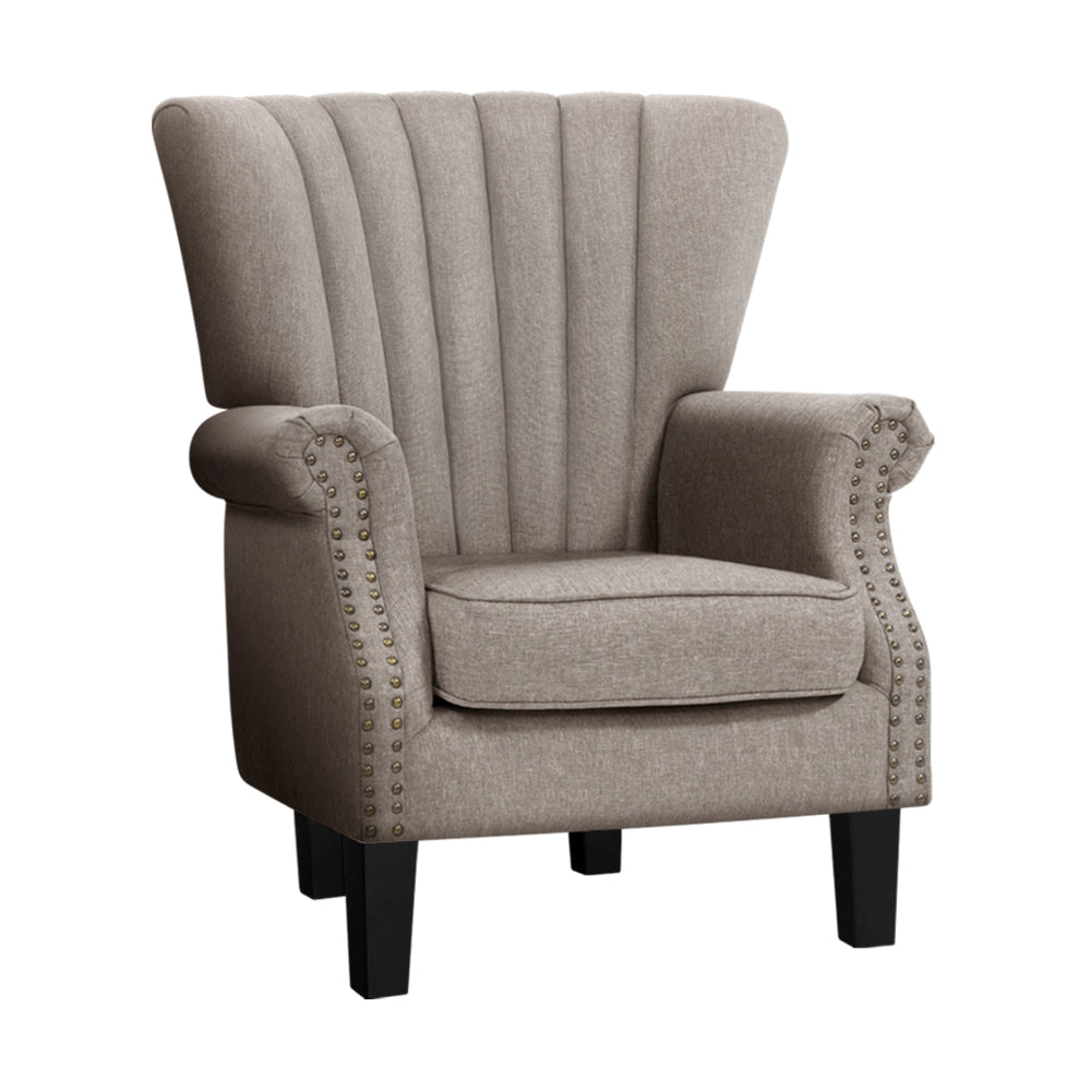 Buy Armchair Lounge Chair Accent Chairs Armchairs Fabric ...