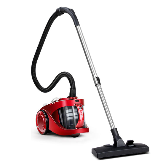 Bagless Cyclone Cyclonic Vacuum Cleaner - Red