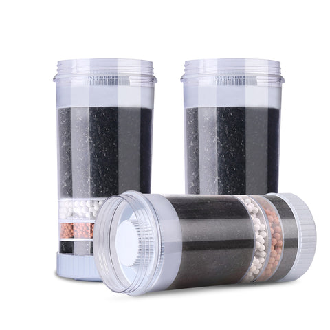 Water Cooler Dispenser Water Filter Purifier 6-Stage Filtration Carbon Mineral Cartridge Pack of 3