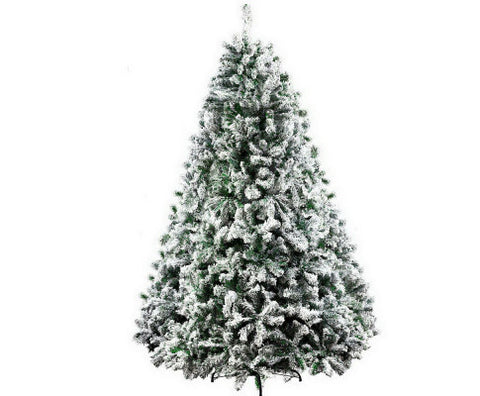 Christmas Tree 2.1M 7FT Xmas Decorations Snow Home Decor