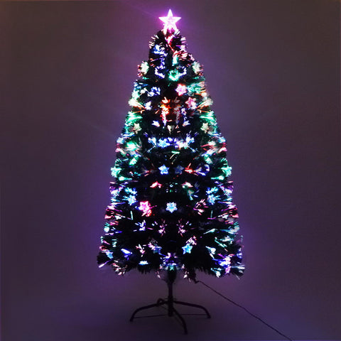 1.2M 4FT LED Christmas Tree Xmas Optic Fiber Multi Colour Lights