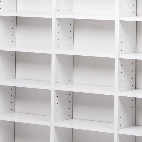 ... CD Storage Shelf Rack Unit   White ...