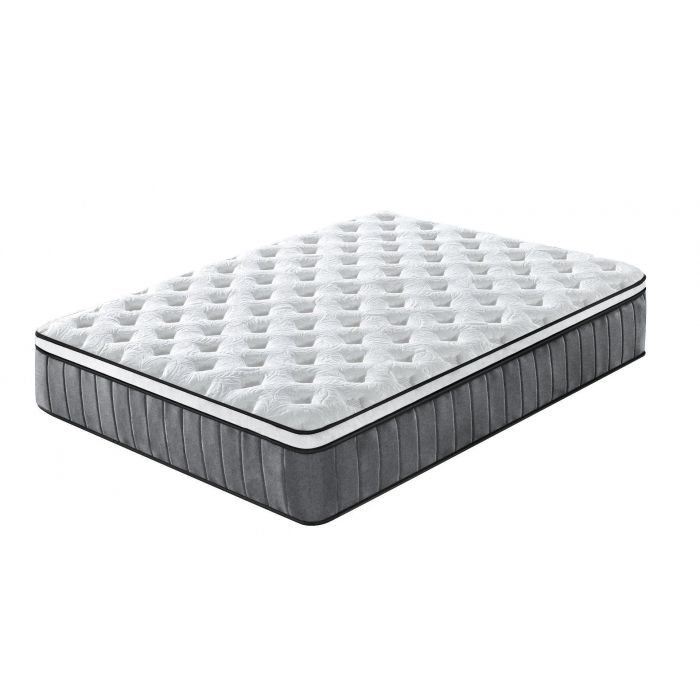 Cooling Gel Hepta-Zone Hybrid Tri-Foam Spring Euro Mattress Size Queen