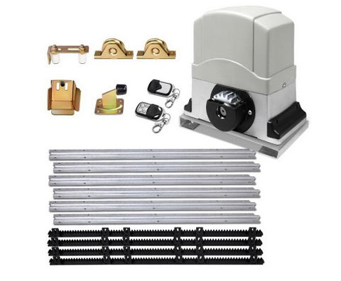 Electric Sliding Gate Opener 1200KG With Hardware Kit 4M Rail