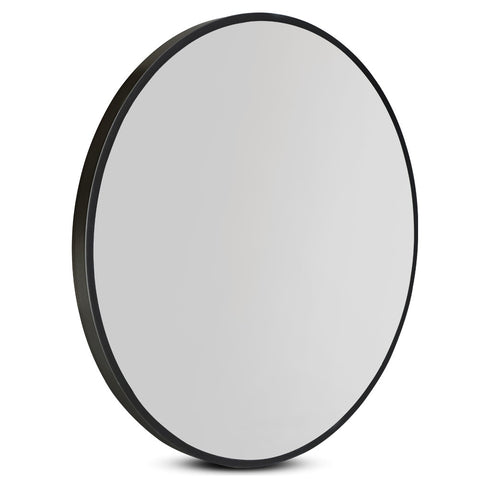60cm Frameless Round Wall Mirror