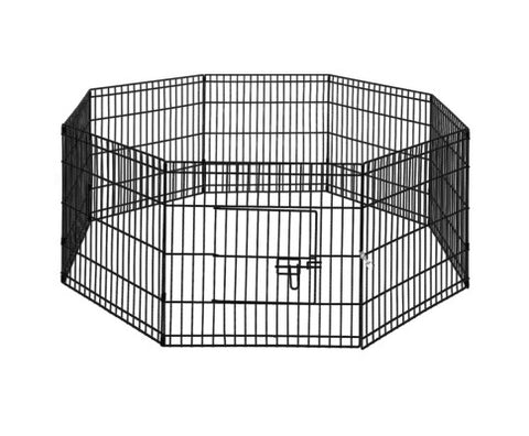 "24"" 8 Panel Pet Dog Playpen Fence"