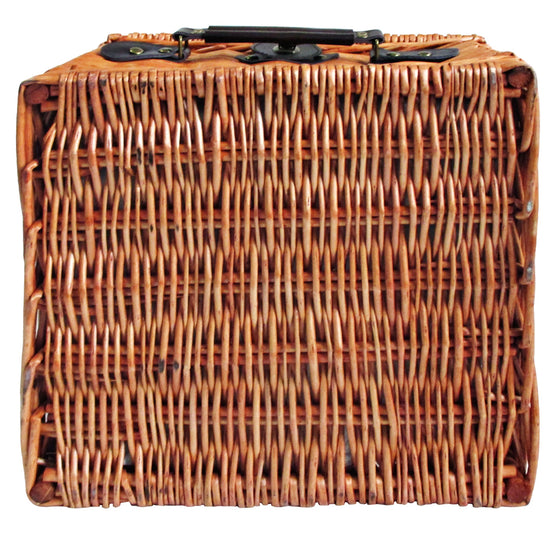 2 Person Picnic Basket Deluxe Outdoor Corporate Blanket Park