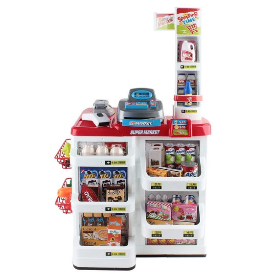 Kids Supermarket Play Set