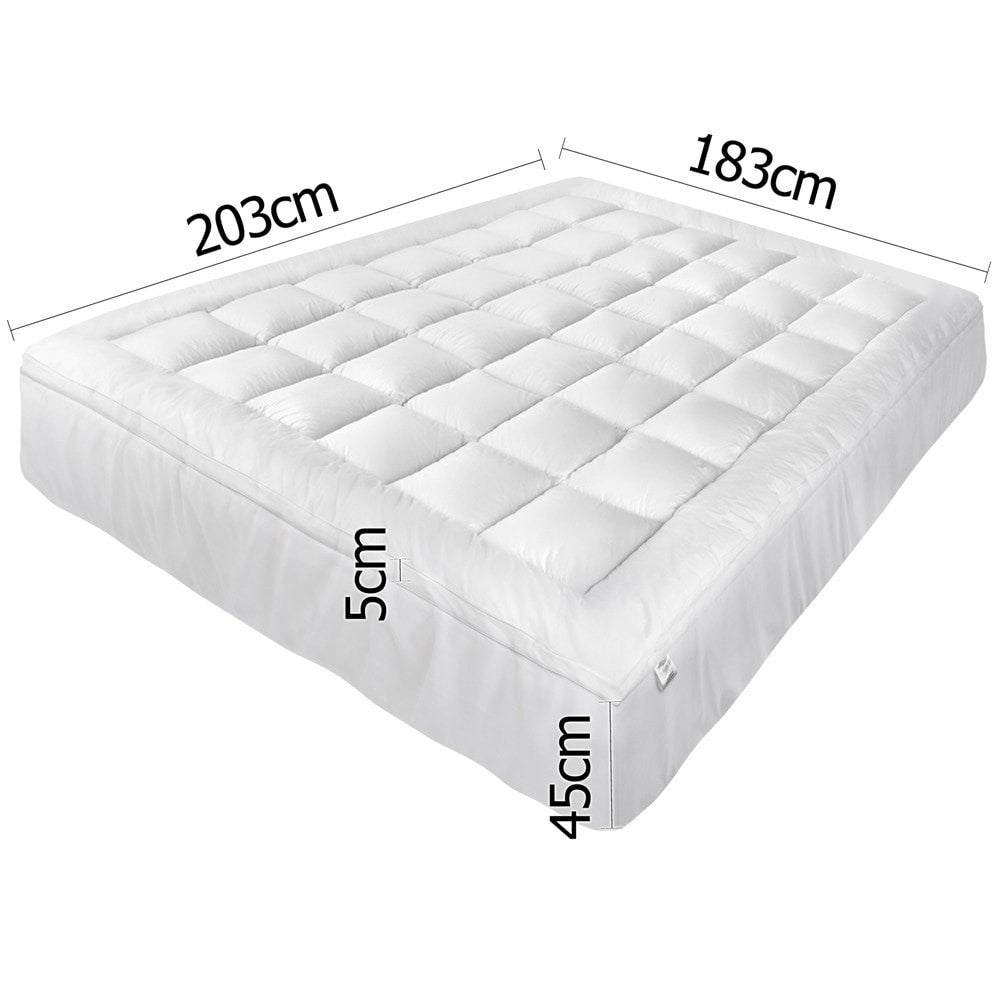 Buy Pillowtop Mattress Topper Memory Resistant Protector