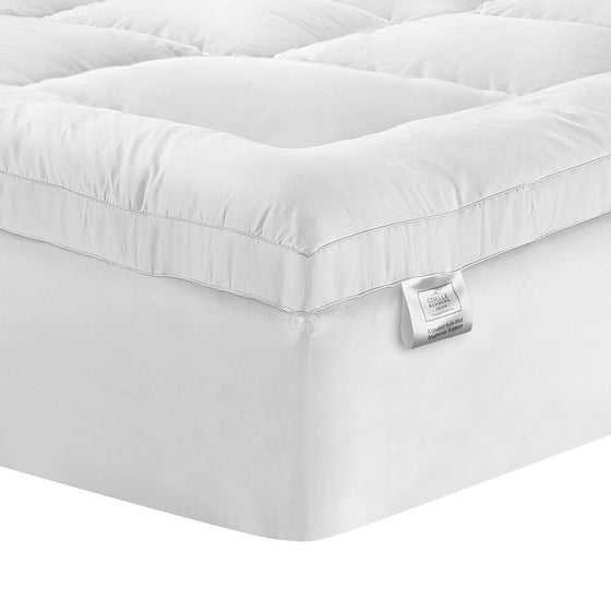 King Single Mattress Topper Pillowtop 1000GSM Microfibre Filling Protector