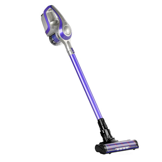 Cordless 150W Handstick Vacuum Cleaner - Purple and Grey
