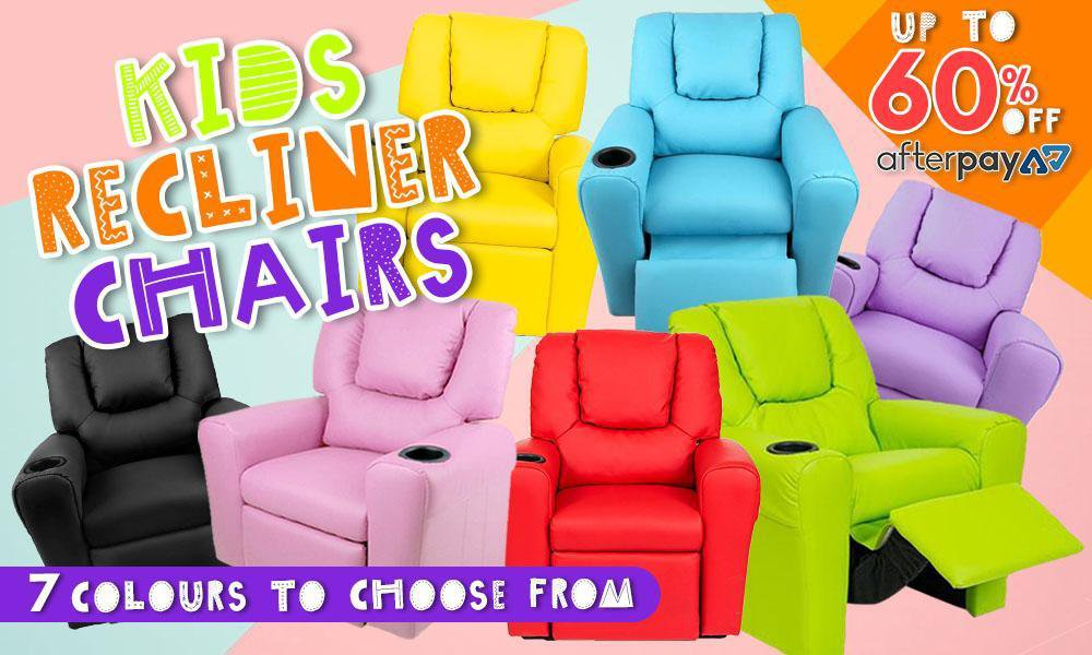 Kids Leather Recliner Chairs