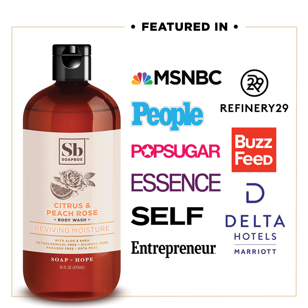 Soapbox Nourishing Hand Soap Body Wash Amp Shampoo That