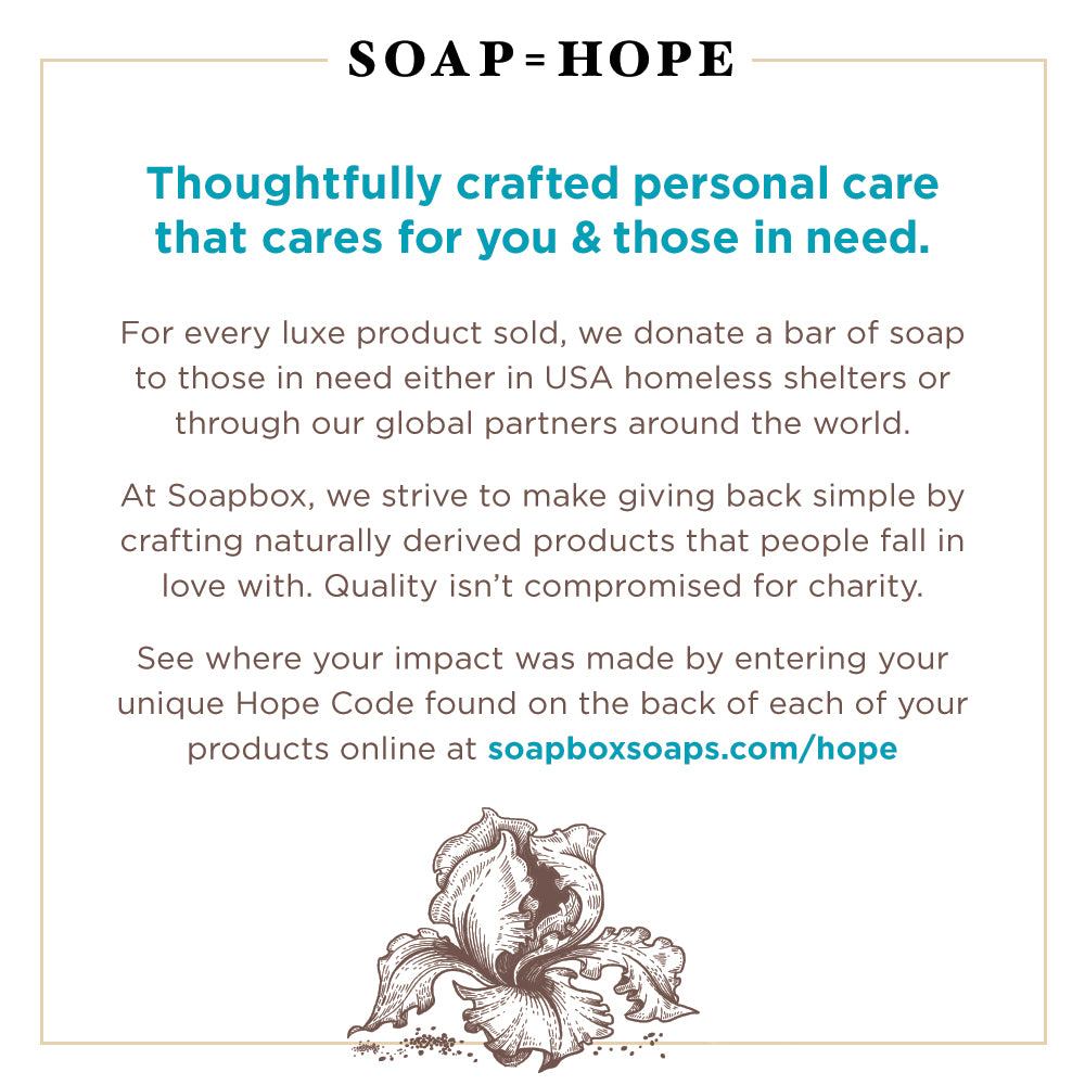 Soapbox - Nourishing hand soap, body wash & shampoo that