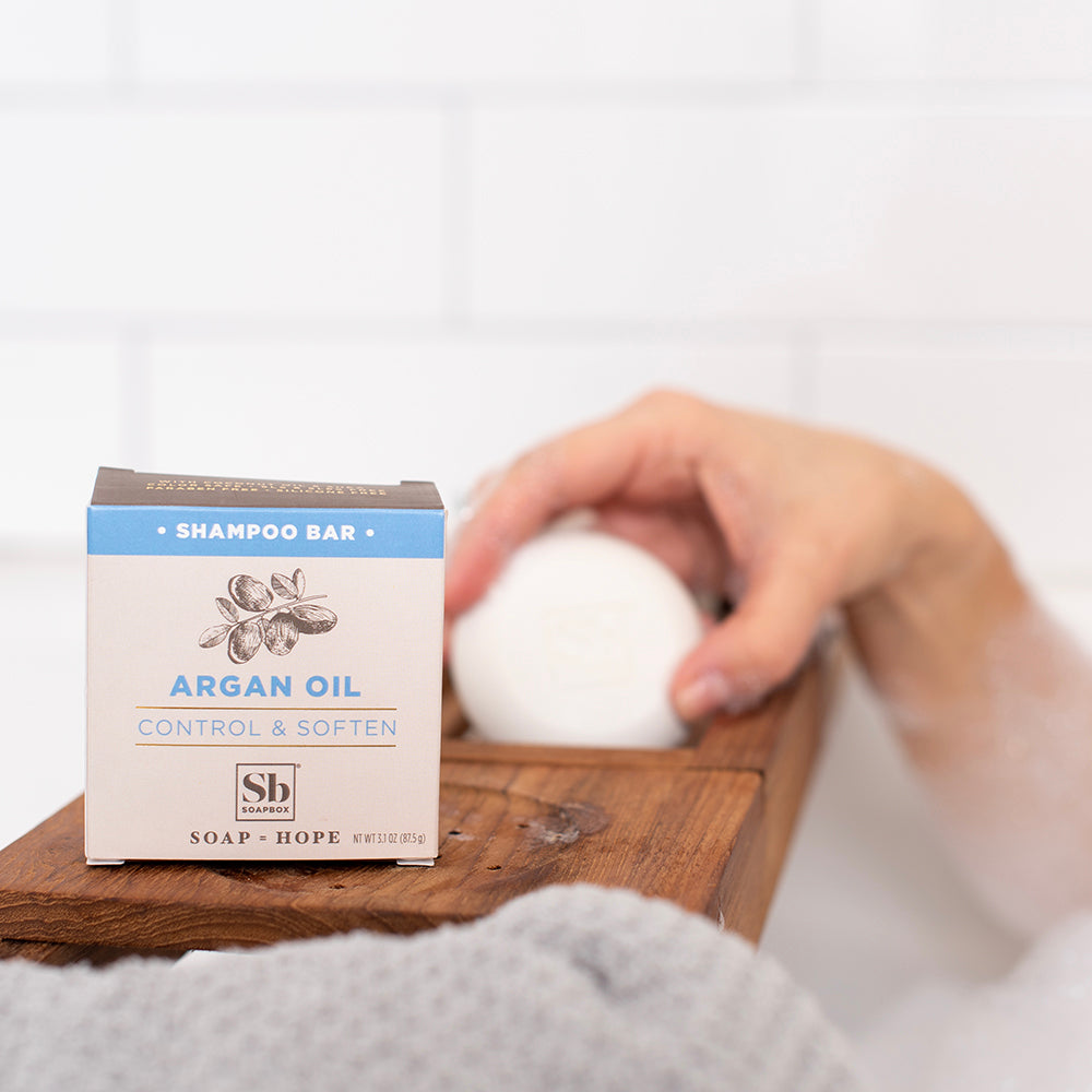 Argan Oil Control & Soften Shampoo Bar