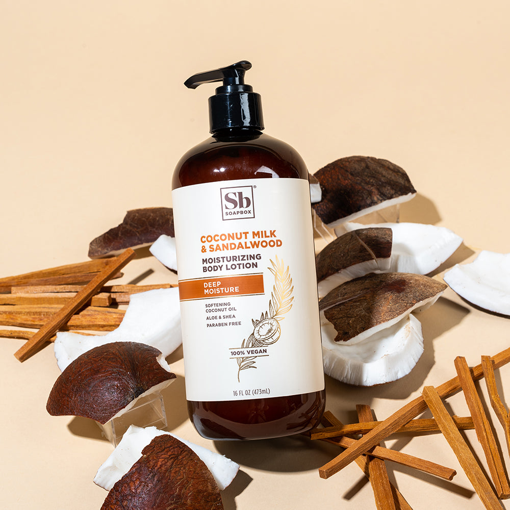 Coconut Milk & Sandalwood Deep Moisture Body Lotion