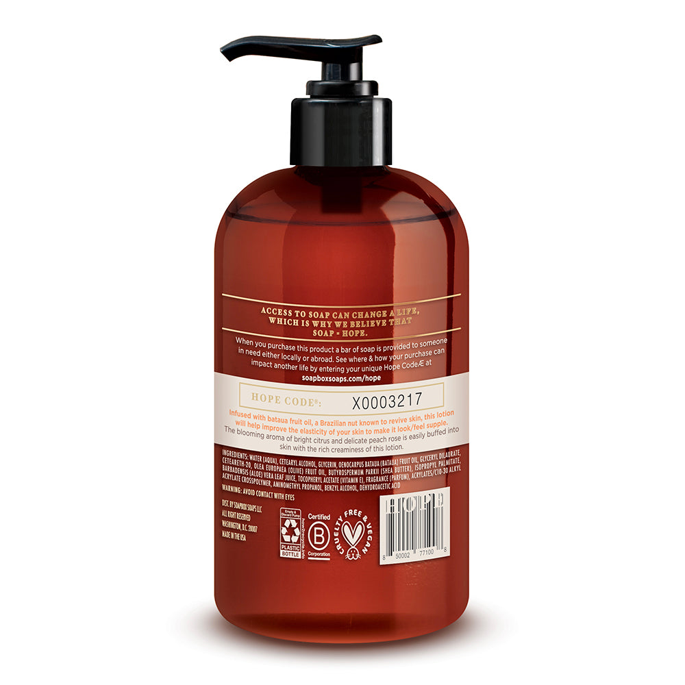 Citrus & Peach Rose Rejuvenating Lotion