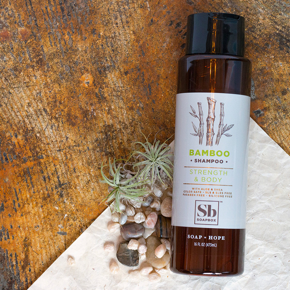 Bamboo Strength & Body Shampoo