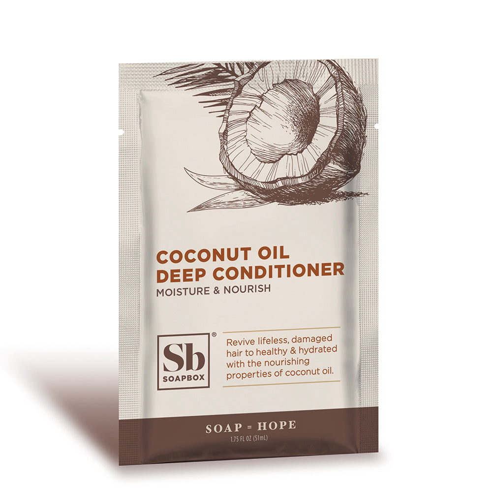 Coconut Oil Rejuvenating Deep Conditioner-Sachet