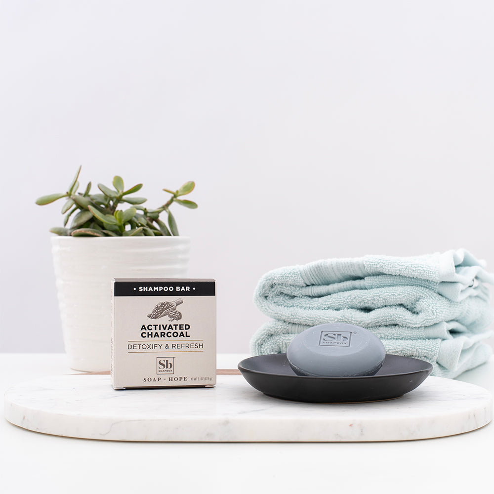 Activated Charcoal Detoxify & Refresh Shampoo Bar