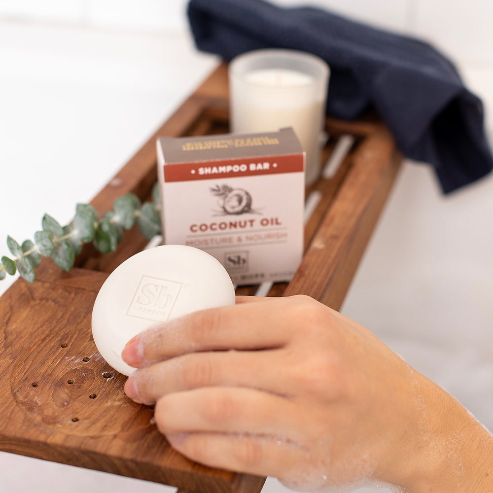 Coconut Oil Moisture & Nourish Shampoo Bar