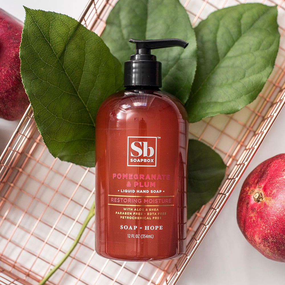 Pomegranate & Plum Restoring Moisture Liquid Hand Soap