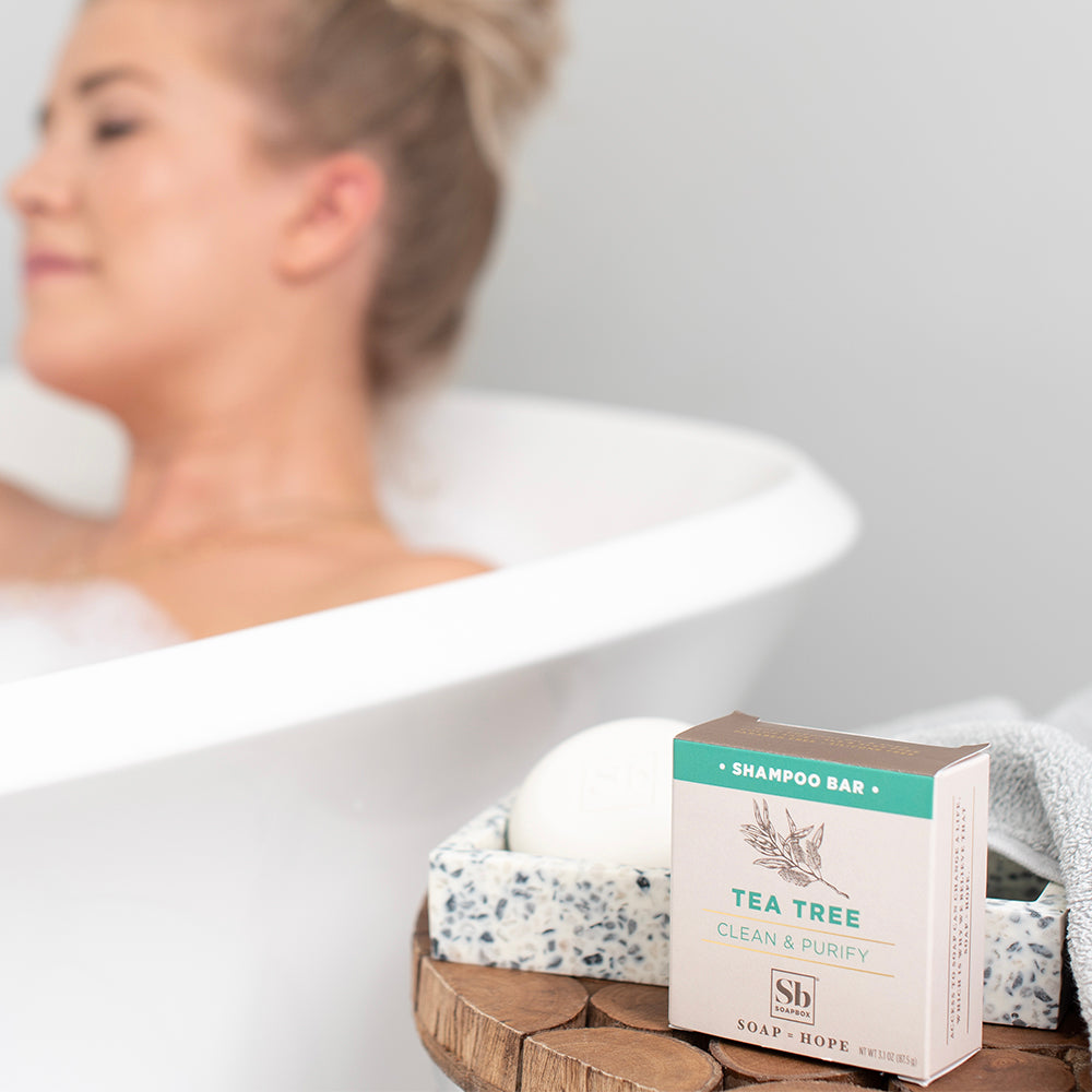 Tea Tree Clean & Purify Shampoo Bar