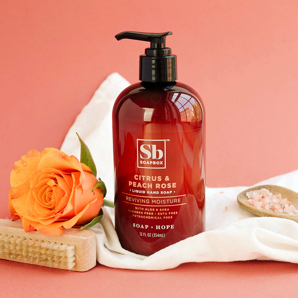 Citrus & Peach Rose Reviving Moisture Liquid Hand Soap