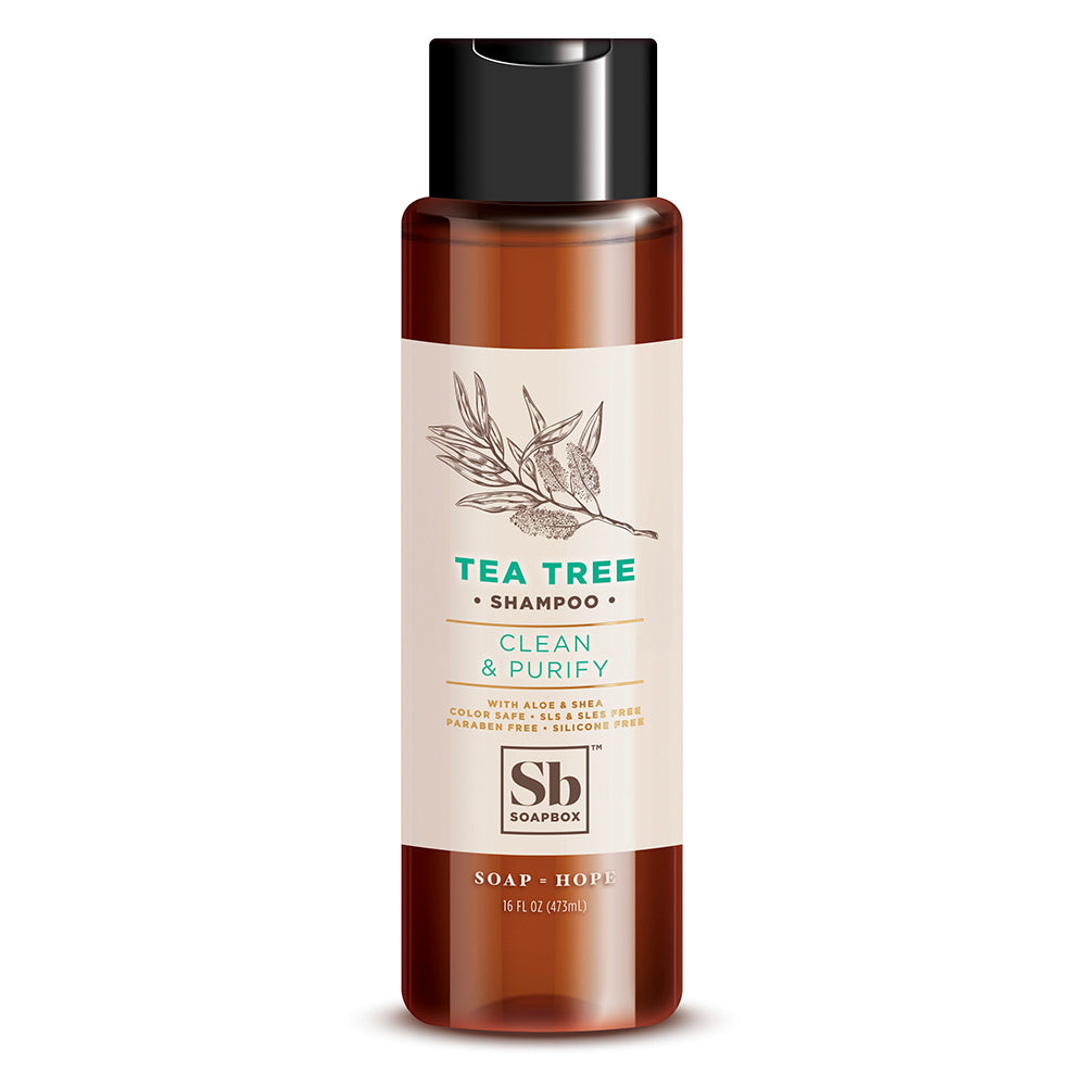 Health & Beauty Lovely Soapbox Tea Tree Shampoo 16oz Tea Tree