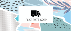 Flat Rate Shipping $9.99