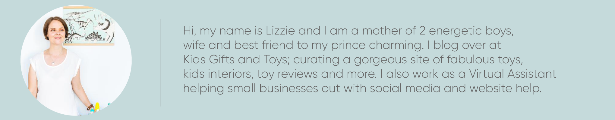 Lizzie Wall Kids Gifts and Toys Blogger for Tiny Paper Co.