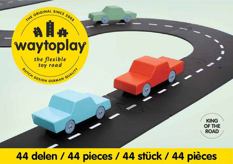 way-to-play-road-track-king-of-the-road-44-pcs